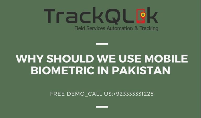 Why Should We Use Mobile Biometric In Pakistan